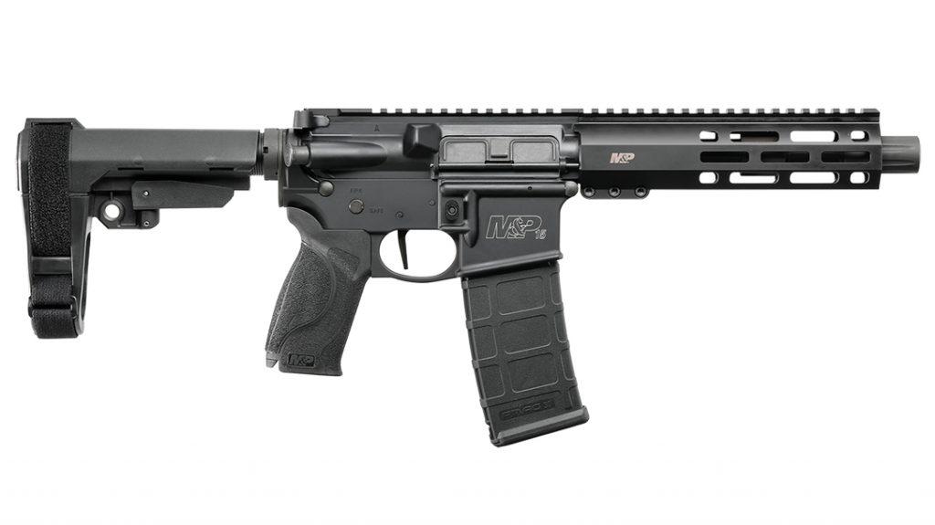 Smith & Wesson M&P15 Pistol, AR Pistol, right