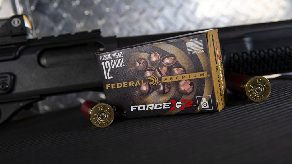 Federal Force X2 ammunition, shotgun