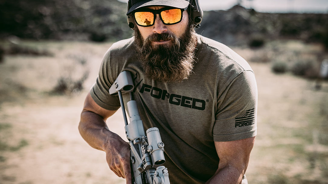 Forged Clothing, Forged Threadworks, Michael Sauers, gun