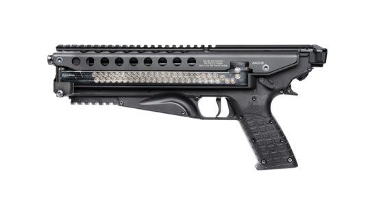 KelTec P50 5.7x28mm pistol, left