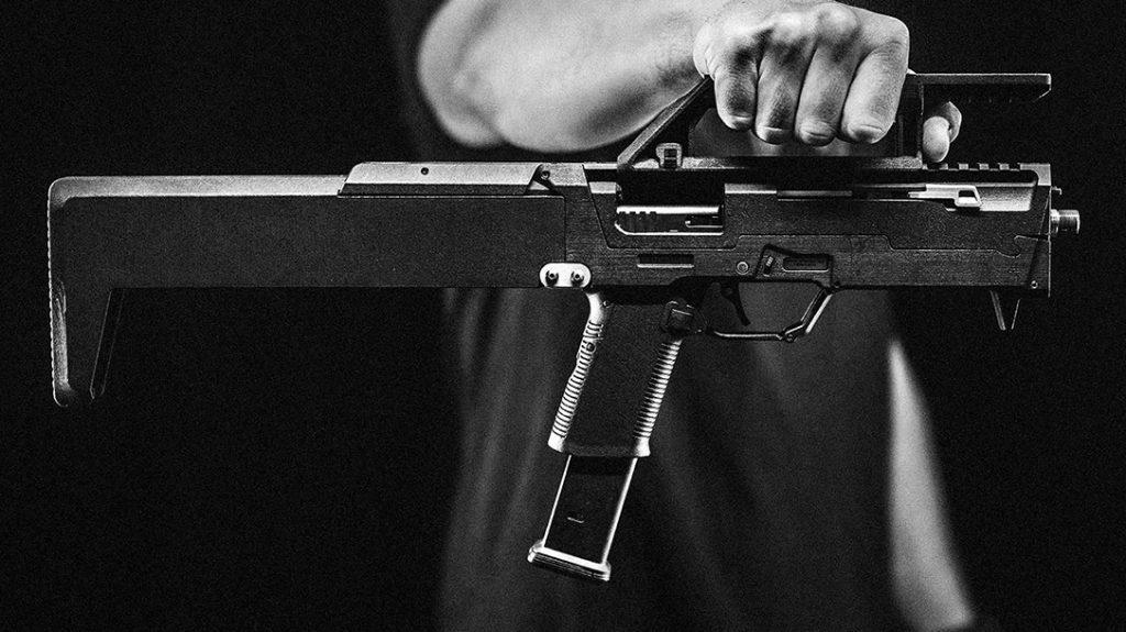 Magpul Folding Pistols, ZEV FDP 9, handle