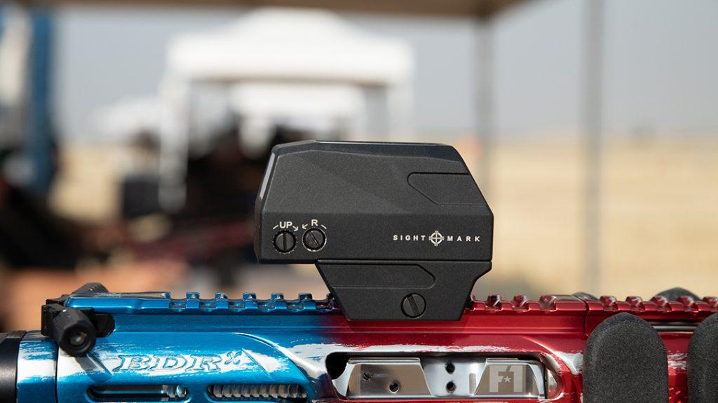 Sightmark Volta solar red dot sight, side