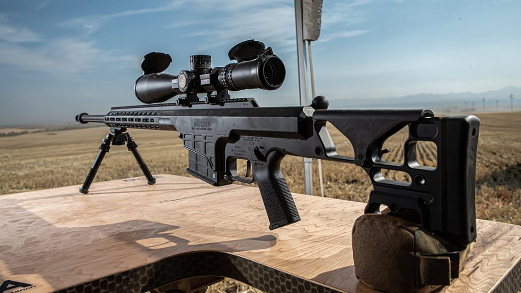 Barrett single mission rifle review, left