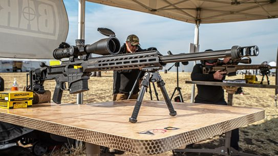 Barrett MRAD SMR Rifle Review, right