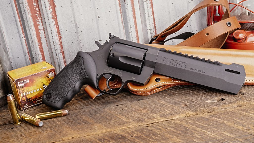Taurus Raging Hunter 460 S&W Revolver, black