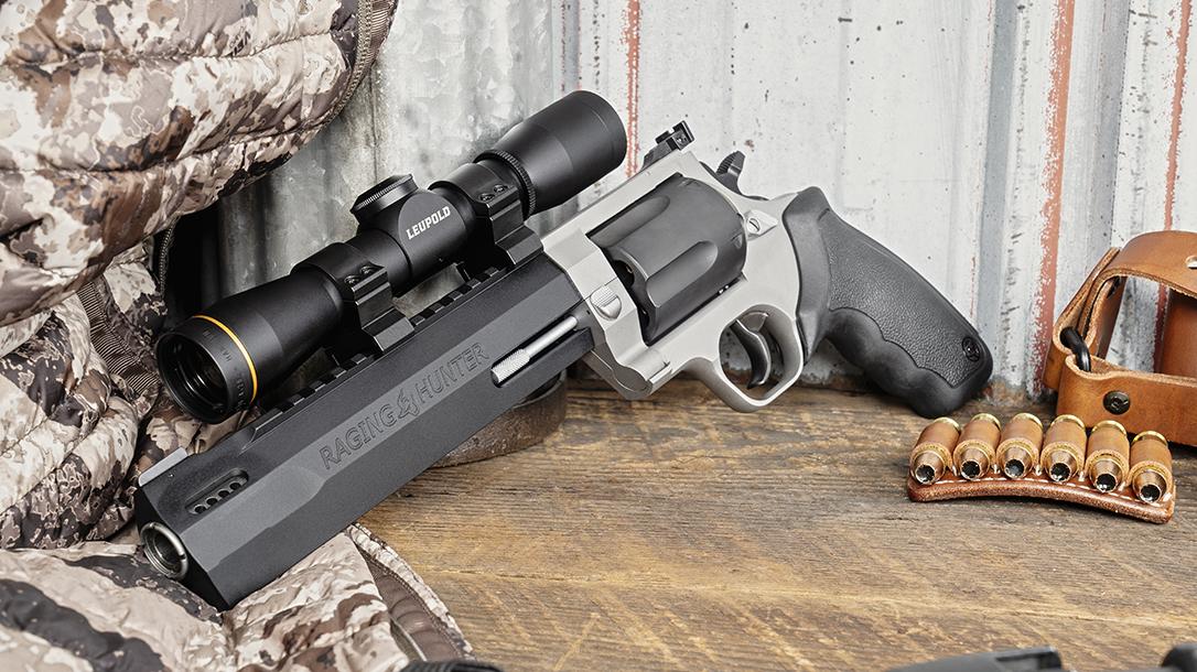 Taurus Raging Hunter 460 S&W Revolver, two tone