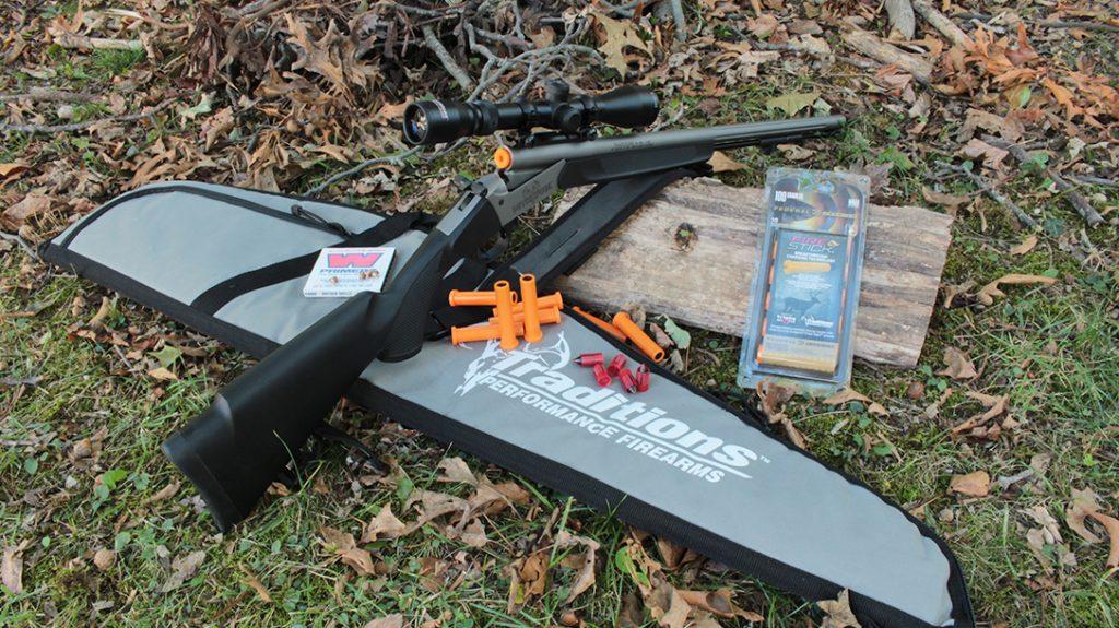 Traditions Nitrofire Muzzleloader, Federal Firestick, rifle