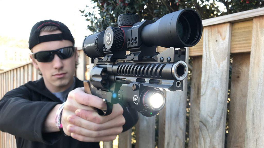Korth NXR 44 mag revolver, 44 magnum, review, lead