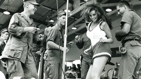 Raquel Welch, Vietnam War, Bob Hope Christmas Show