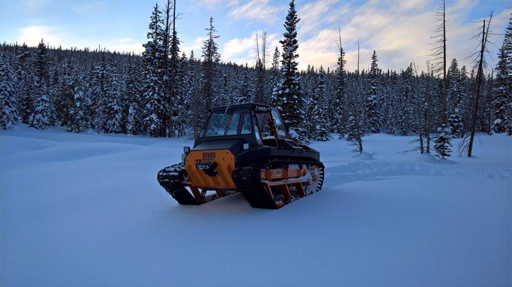 LiteTrax review, Lite Trax, extreme terrain vehicle test, snow