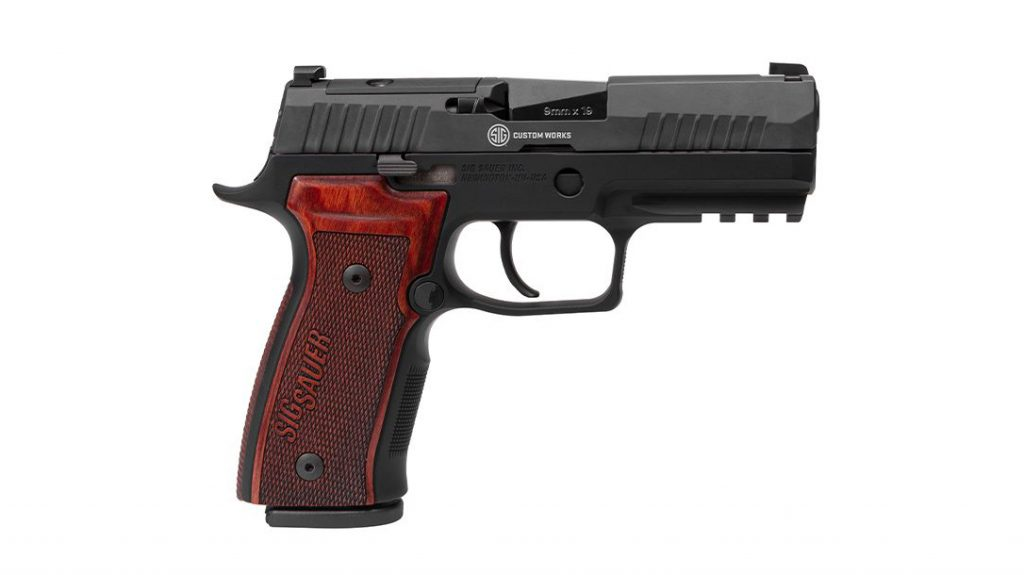 SIG P320 AXG Classic Pistol, right, new guns 2021
