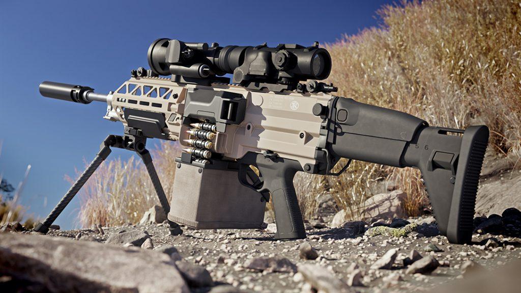 FN EVOLYS machine gun, new guns 2021