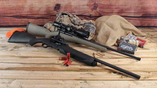 Mossberg 930 Slugster shotgun, Mossberg Patriot Predator Rifle, combo