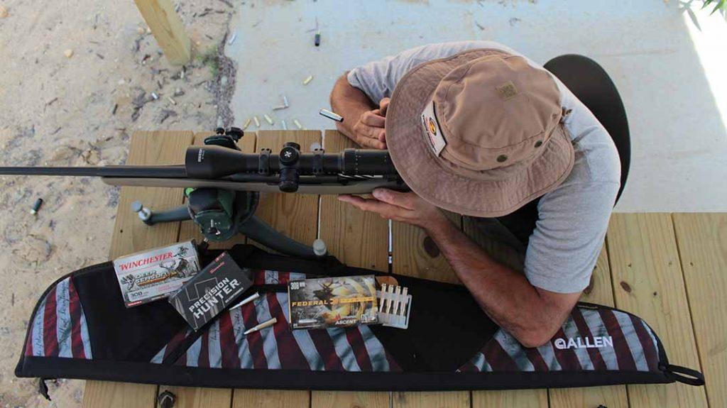 Mossberg Patriot Predator Rifle, deer hunting