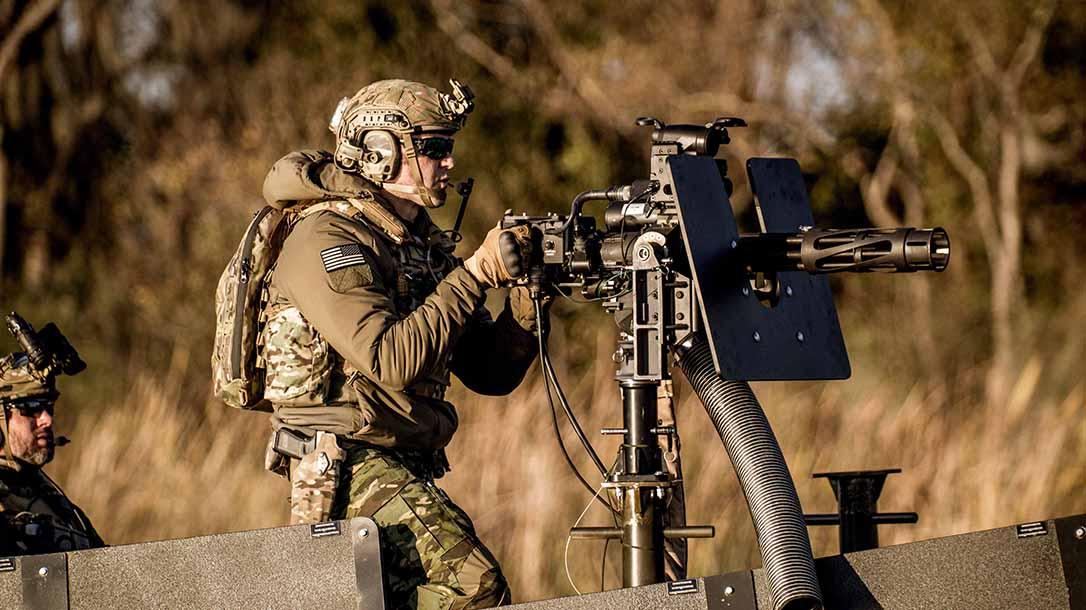 Profense PF M134 Minigun, lead