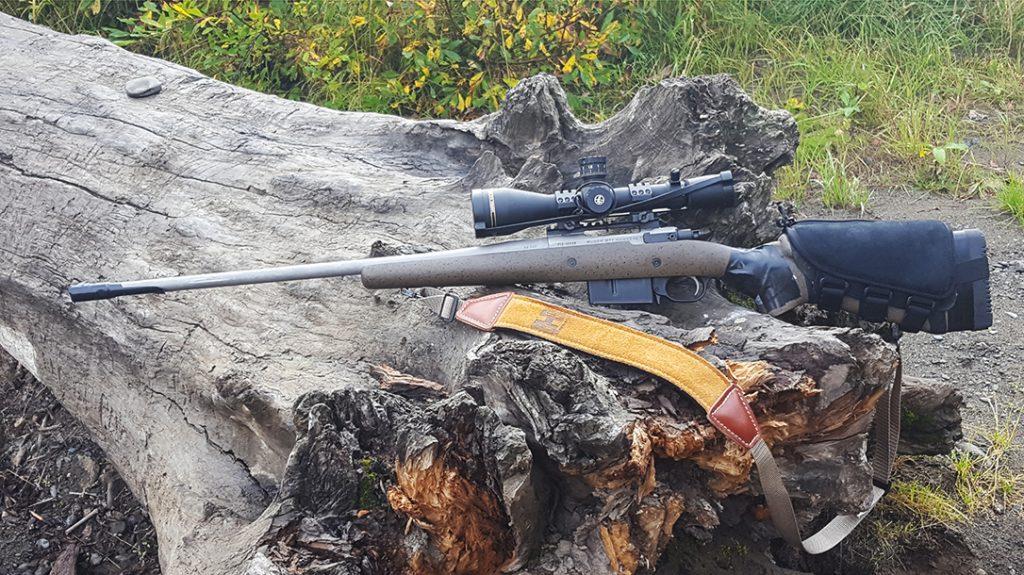 Ruger Model 77 Hawkeye Hunter review, left