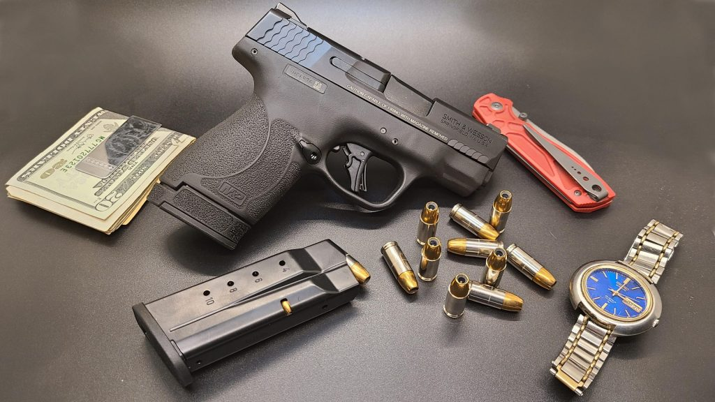 Smith & Wesson M&P9 Shield Plus pistol, new guns 2021