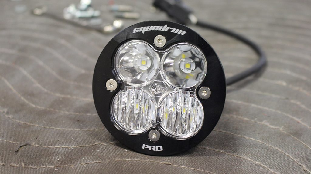 The Squadron Pro packs 4,600 Lumens at 40 watts.