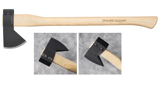 The Cold Steel Hudson Bay Camp Axe updates a classic design.