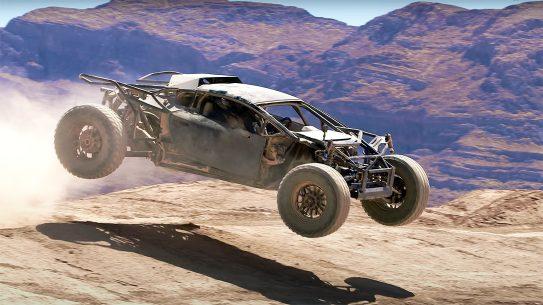 B is for Build's Jumpacan Lamborghini Huracan will take on the Mint 400.