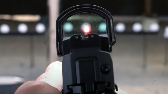 Follow this guide from SIG to get your red dot on target quickly.