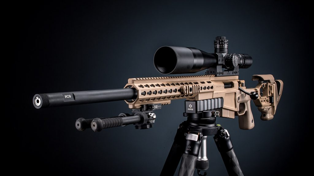 Accuracy International AX is a prime example of one of the top 7 rifle chassis.