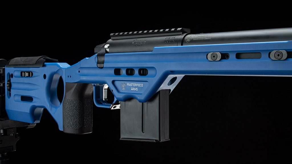 The Masterpiece Arms Matrix adds some color to these top 7 rifle chassis.