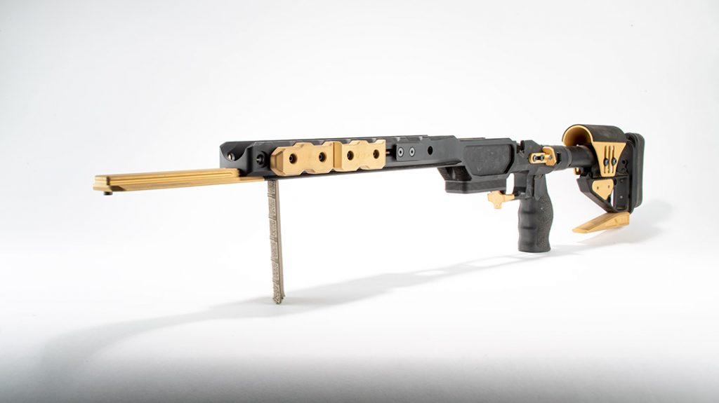 The XLR Envy Pro JV Kit provides modern two-tone styling to this list of 7 top rifle chassis.