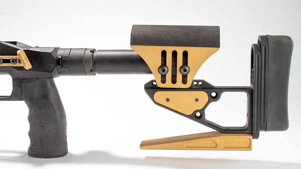 Tools are required to adjust the buttstock of the XLR Envy Pro.
