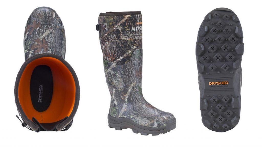 Dryshod Introduces NoSho Gusset Ultra Hunt Camo Boot