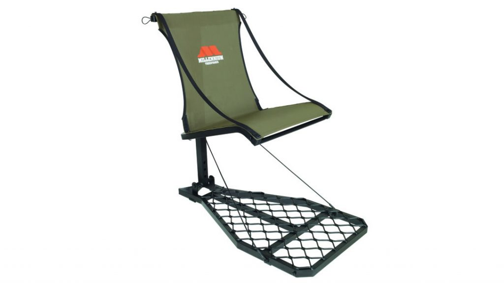 Millennium's Ultralite Hang-On tree stand