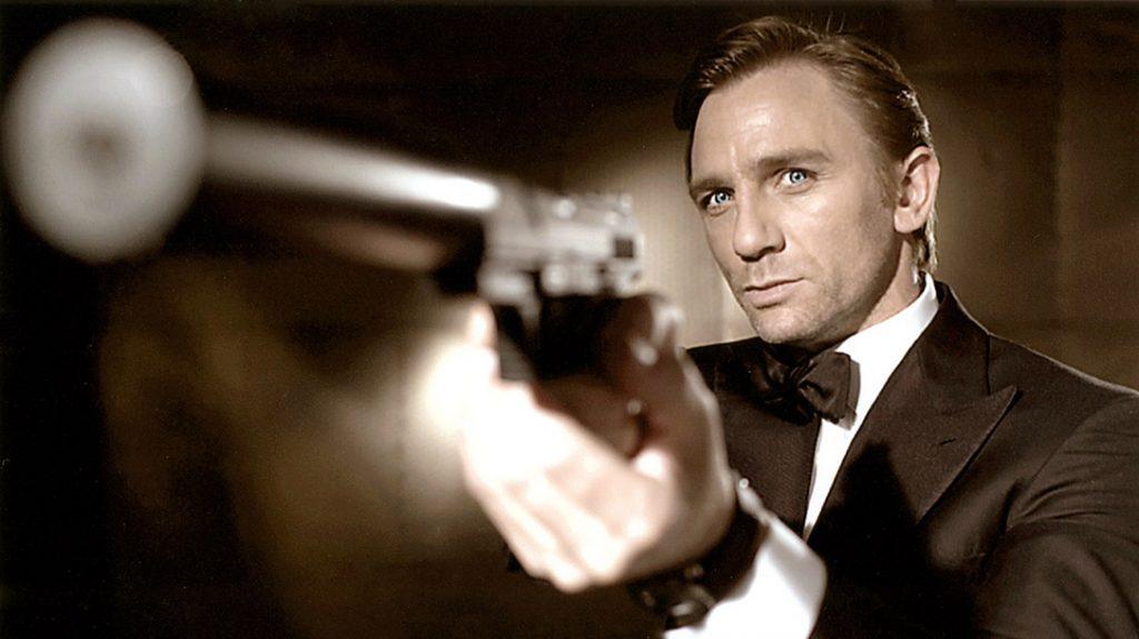 James Bond keeping it classy.