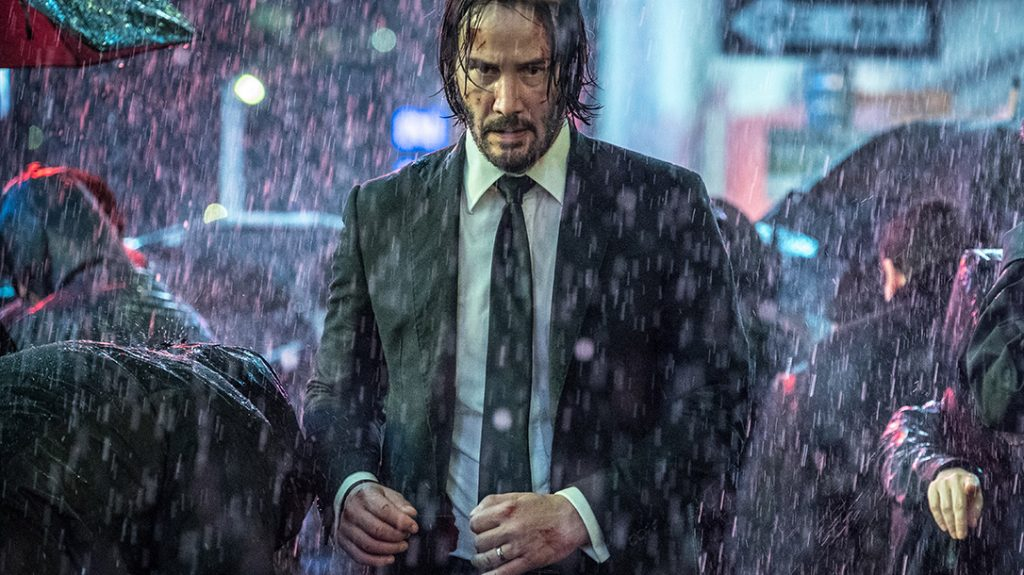 John Wick demonstrates as he vs James Bond that sometimes extreme violence is the answer.