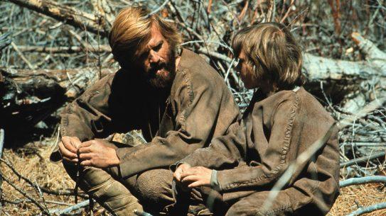 Robert Redford in Jeremiah Johnson.