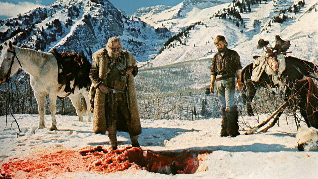 BP87D5 SCENE WITH ROBERT REDFORD JEREMIAH JOHNSON (1972)