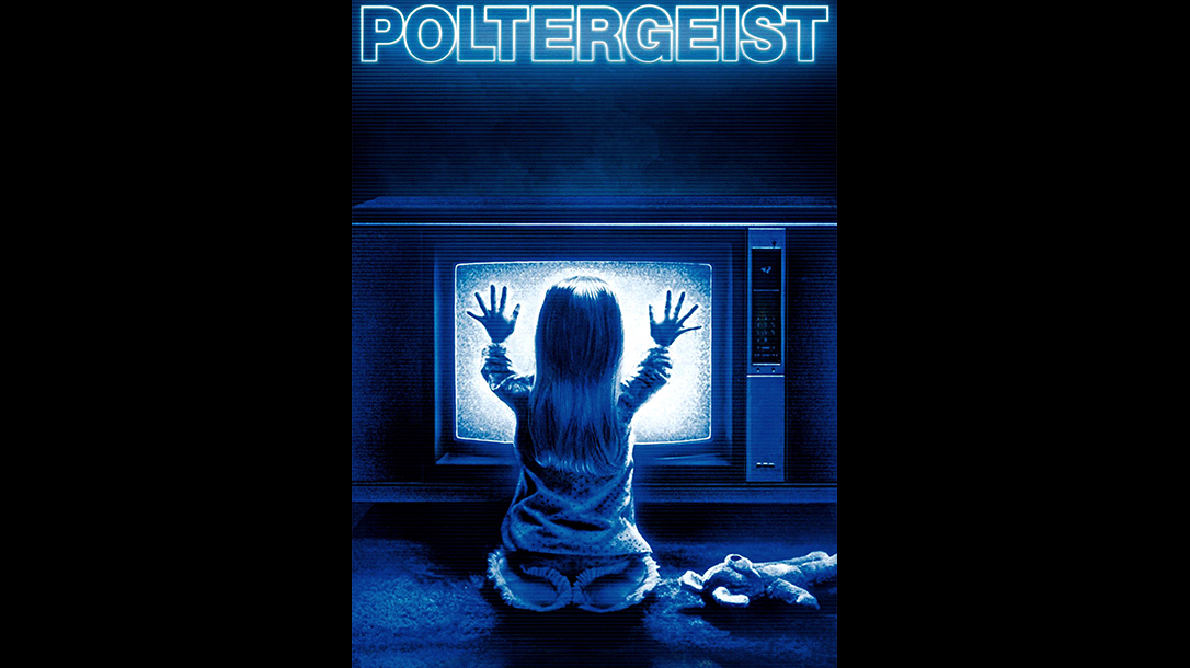 Poltergeist, poster, they're here