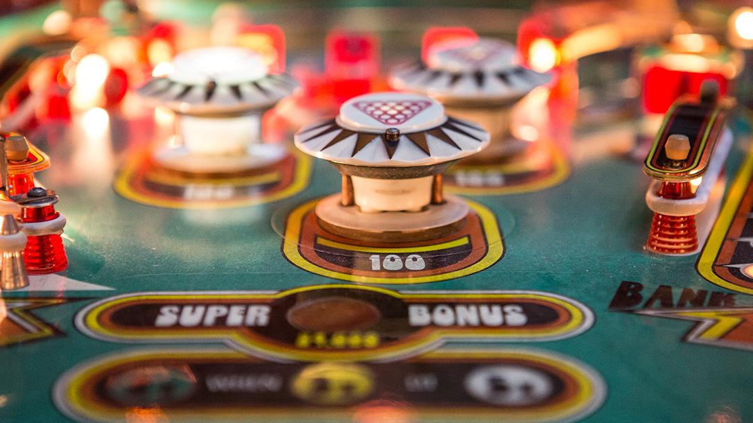 Museum of Pinball, pinball bumpers