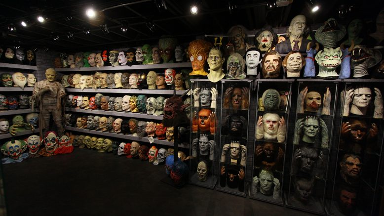 The Jaw-Dropping Halloween Mask Collection of Rudy Munis