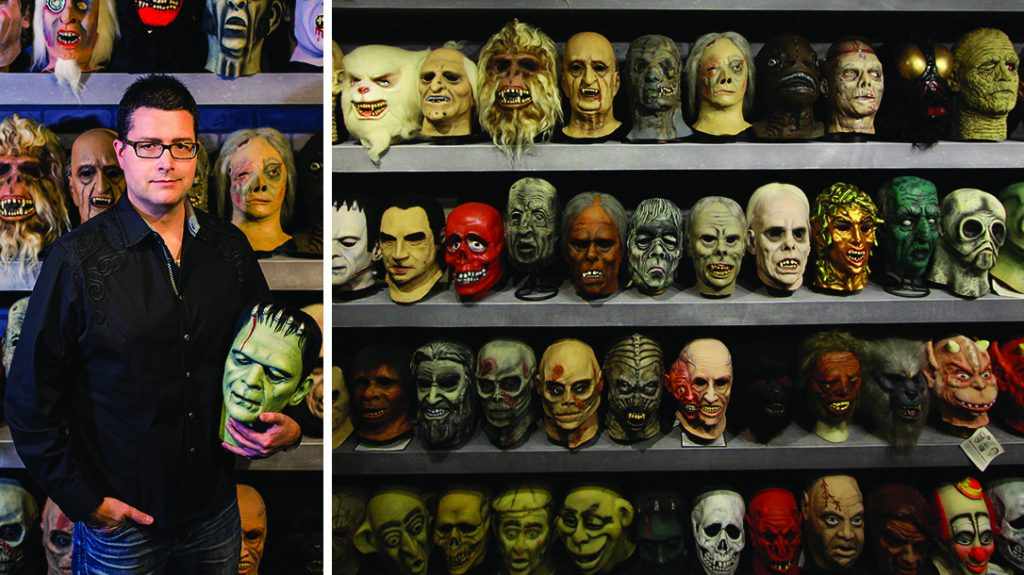 Halloween Mask Collection, Don Post Studios, Rudy Munis, collector