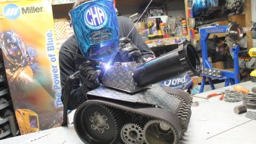 Welding Art Is 20% Skill, 80% Imagination With Cold Hard Art
