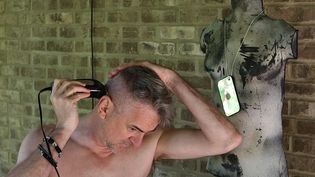 DIY Haircut, clippers, shaving head