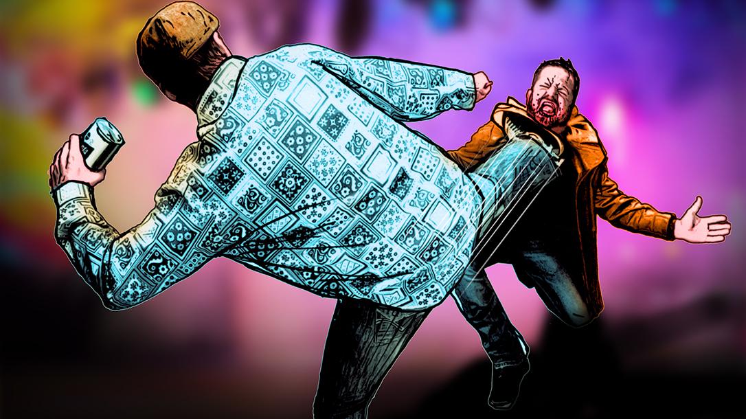 Chuck Norris Side Kick