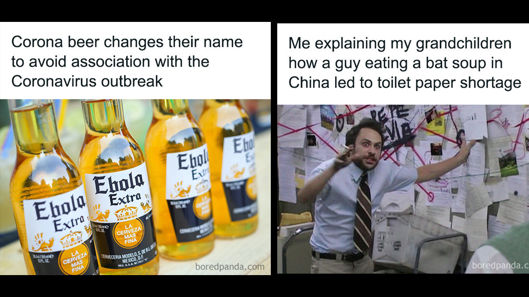 Corona Beer Label Meme