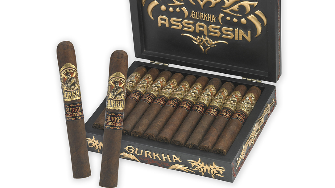 Assassin Box Gurkha Cigars