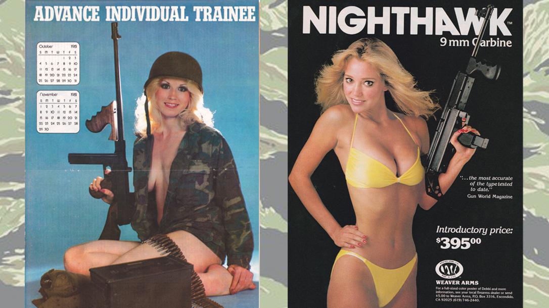 1980s magazine, military magazines, gun bunnies