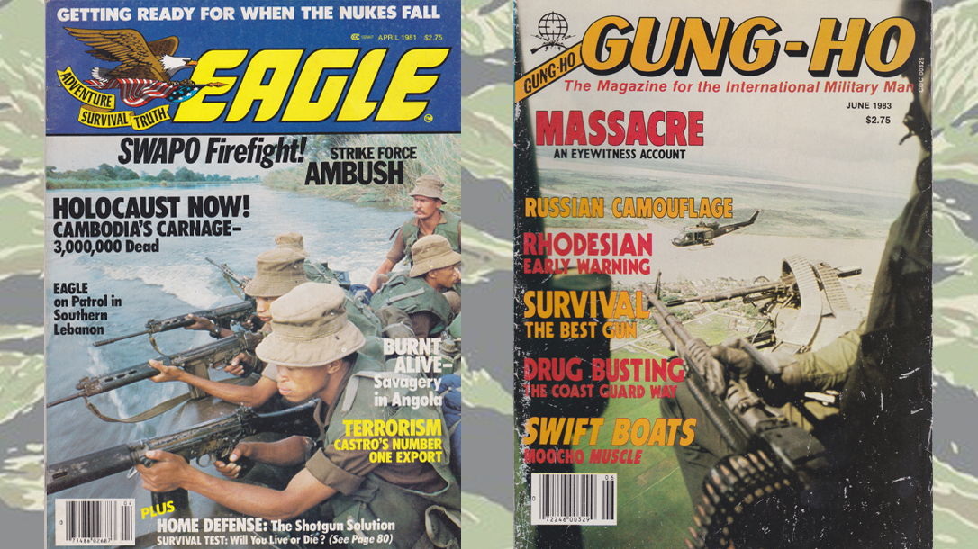 Military magazines Eagle and Gung-Ho