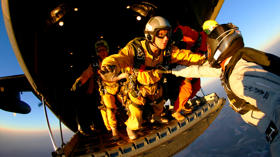 Military Freefall US Navy Seal
