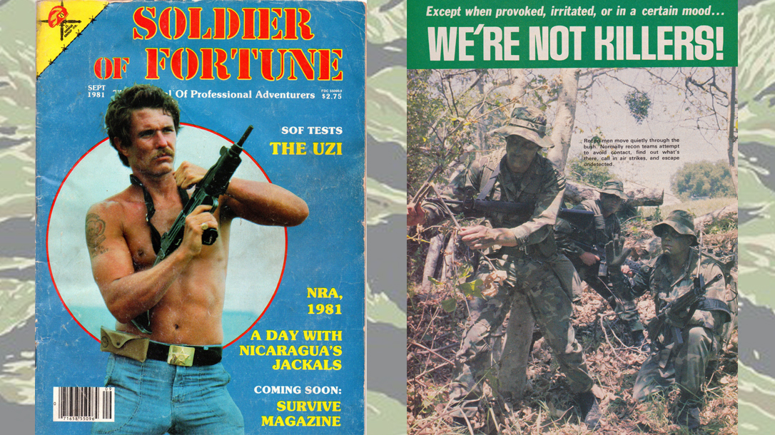 Soldier of Fortune magazine led the way.