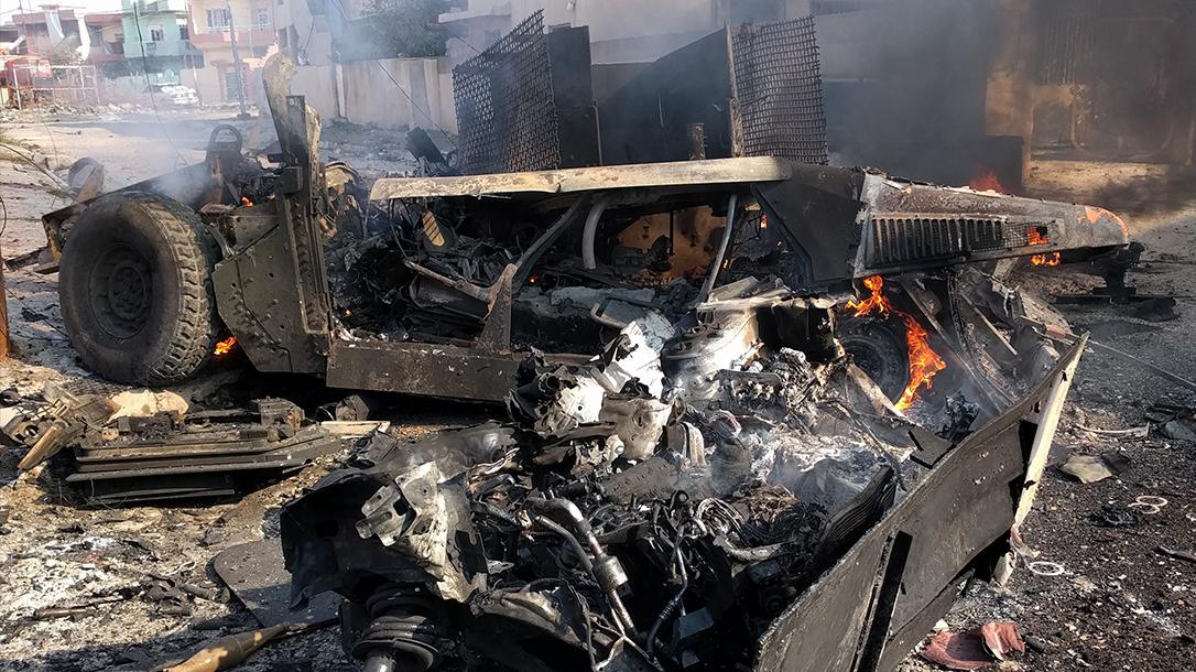IED roadside bomb