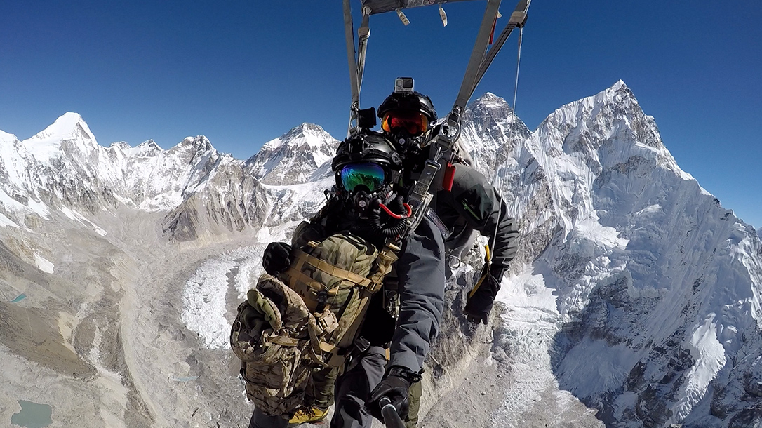 Military Freefall Record at Mt. Everest